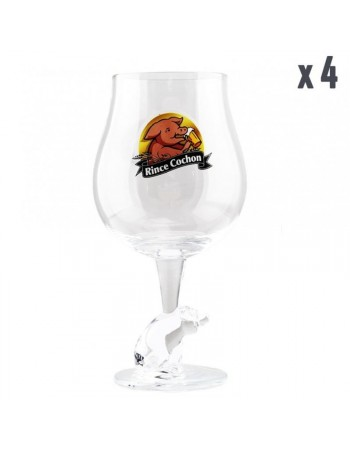 PACK VERRES RINCE COCHON - 4*50CL