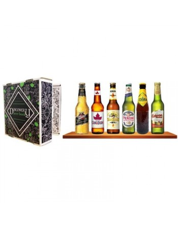 SELECTION BIERES DU MONDE DISCOVERY BEER BOOK 6*33CL