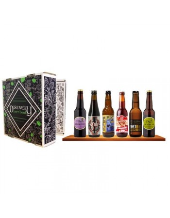 COFFRET BIERES ARTISANALES 6*33CL CRAFT DISCOVERY BEER BOOK