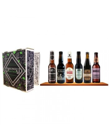 SELECTION BIERES ARTISANALES DEXCEPTION 6*33CL DISCOVERY BEER BOOK