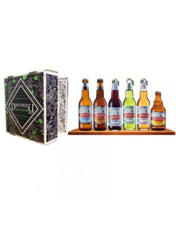 BRASSERIE MONT BLANC COFFRET DECOUVERTE 6*33CL DISCOVERY BEER BOOK
