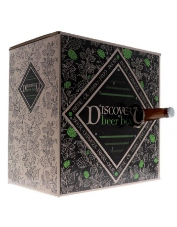CALENDRIER DISCOVERY BEER BOX TRENDY 24 BIERES + 1 VERRE