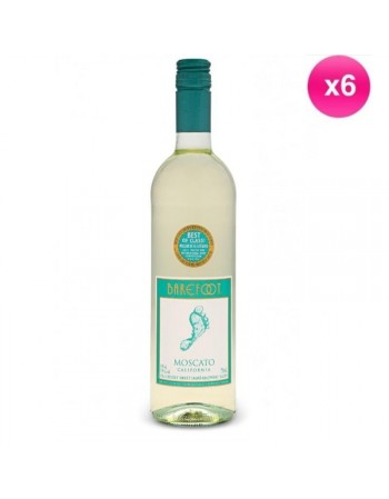 BAREFOOT MOSCATO BLANC 6*75CL