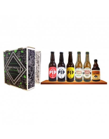 DISCOVERY BEER BOOK - 6 BIERES FRANCAISES