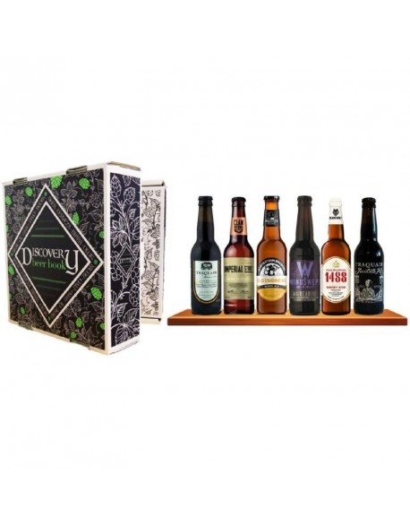 DISCOVERY BEER BOOK BIERES DEXCEPTION ECOSSAISES 6*0.33L
