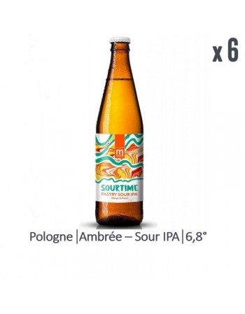 MARYENSZTADT SOURTIME PASTRY SOUR IPA MANGO PEACH 6*50CL