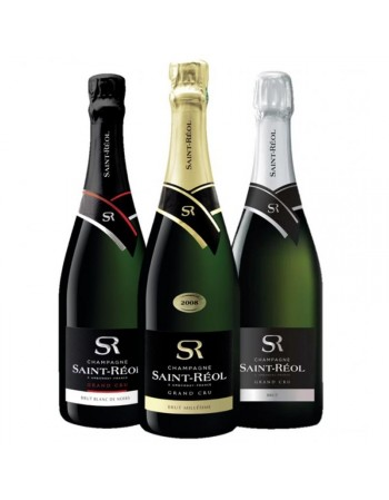 BOX CHAMPAGNE ST REOL MIXTE 3*75CL
