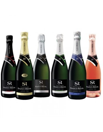 BOX 3 CHAMPAGNE ST REOL MIXTE 6*75CL