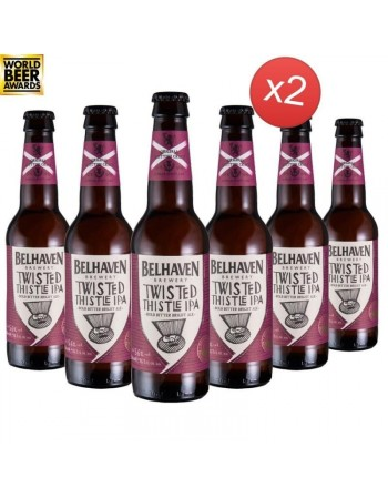 BELHAVEN CRAFT TWISTED THISTLE IPA 12*33CL