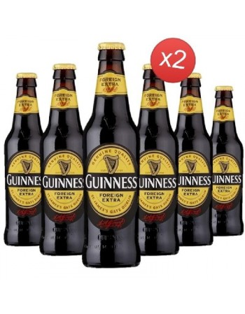 GUINNESS FOREIGN XTRA STOUT 12*33CL