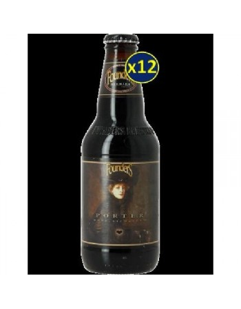 FOUNDERS BREWING PORTER 12*0.355L