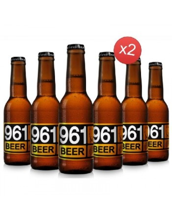 961 BEER LAGER 12*33CL