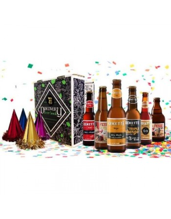 DISCOVERY BEER BOX HAPPY NEW YEAR 6*0.33L
