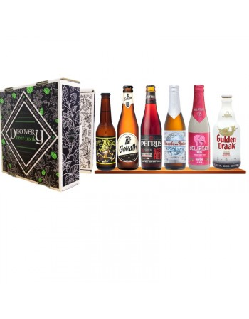 DISCOVERY BEER BOOK BELGE 6*0.33L MP