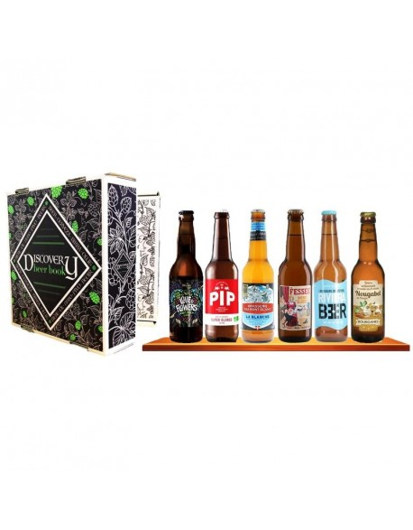 COFFRET DISCOVERY BEER BOOK X6 BIERES FRANCAISES