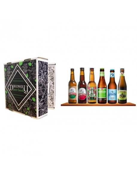 DISCOVERY BEER BOOK BIO 6*0.33L