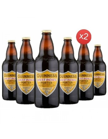 GUINNESS WEST INDIES PORTER 12*50CL