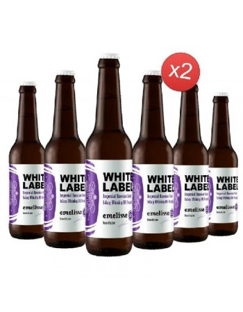 EMELISSE WHITE IMPERIAL STOUT ISLAY WHISKEY BA PEATED 12*33CL